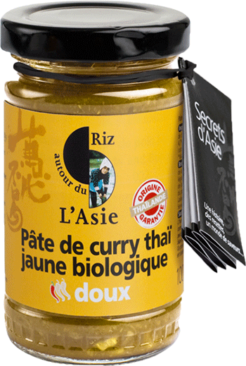 Pâte de curry douce