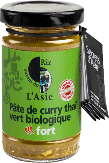 Pâte de curry forte